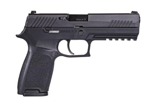 SIG Sauer P320 striker-fired pistol. Bismarck (ND) PD has selected it as its handgun of choice. (Photo: SIG Sauer)