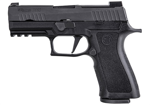 The SIG Sauer P320 X-Series is currently being placed into service with select agencies within the Norwegian Police. Photo: SIG Sauer