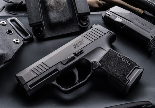 High-Capacity Micro-Compact P365 concealed carry pistol (Photo: SIG Sauer)