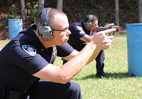 The Sumter (SC) Police Department will replace their current issue pistols with the SIG Sauer P320 and P365 pistols. Photo: SIG Sauer