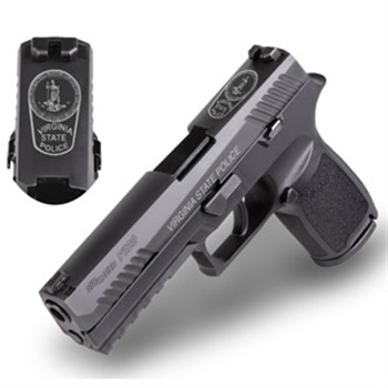 The Virginia State Police will begin instruction and training on their SIG Sauer P320 pistols and officially place them into service with the Virginia State Troopers as their official duty sidearm in 2019. (Photo: SIG Sauer)