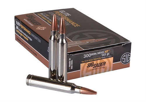 SIG Sauer Inc. is now offering a 300 Win Mag round in its line of SIG HT premium-grade, copper hunting ammunition. (Photo: SIG Sauer)
