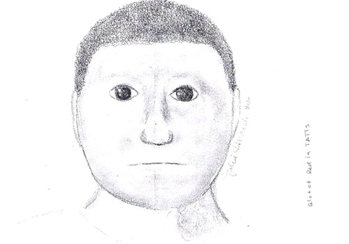 """Online critics have called this composite sketch a """"cartoon."""" (Photo: Lamar County (Texas) Sheriff's Department)"""