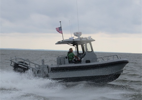 Silver Ships Inc. recently delivered a Freedom 21 all-aluminum patrol/rescue boat to the Southampton, NY Bay Constables (Photo: Silver Ships Inc.)