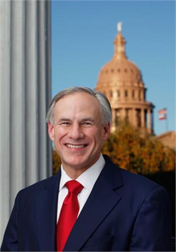 Texas Gov. Greg Abbott (official photo)