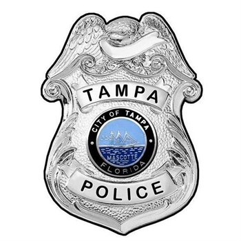 Tampa PD badge Photo: Tampa PD/Facebook