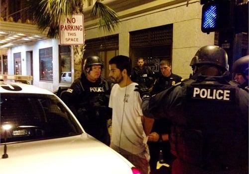 Photo of suspect Adam Matos: Tampa PD Twitter Feed