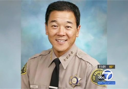 Former Los Angeles County Undersheriff Paul Tanaka was indicted by a federal grand jury on conspiracy and obstruction of justice charges. Tanaka ran for sheriff and lost in the last election. (Photo: KABC TV screen shot)