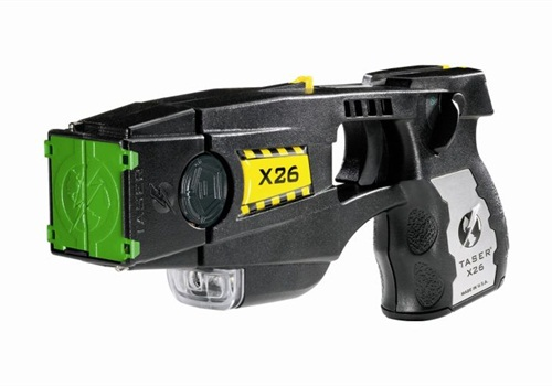The U.S. Supreme Court may consider police use of TASERs such as the X26 (shown). Photo: TASER