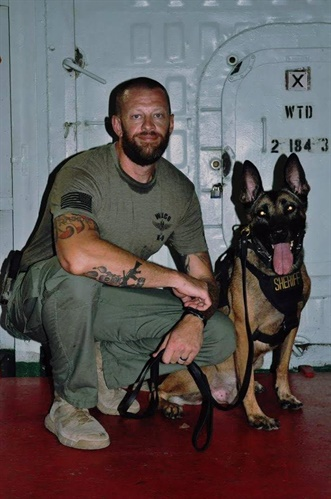 K-9 Harry will live out his days in retirement at home with his handler.