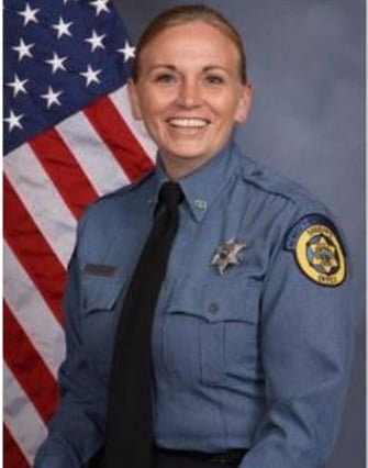 Deputy Theresa King of the Wyandotte County (KS) Sheriff's Office died early Saturday morning from wounds inflicted during a prisoner transport shooting Friday. (Photo: Wyandotte County SO)