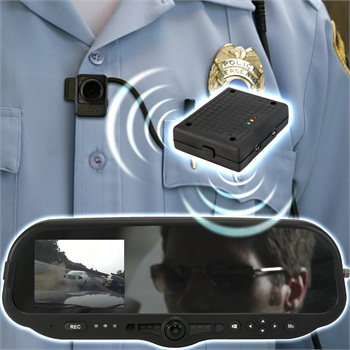 Digital Ally's VuLink connects the company's in-car video systems with its FirstVu HD on-body cameras, making them trigger at the same time.