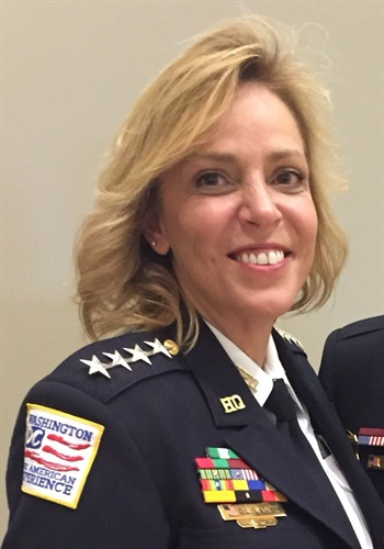 DC Police Chief Cathy Lanier (Photo: Twitter)