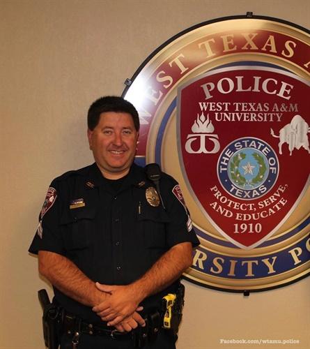 Cpl. Monty Platt (Photo: West Texas A&M University Police/Facebook)