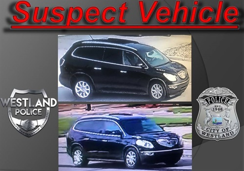 The Westland (MI) Police Department has located and released images of the vehicle that is suspected to have struck and killed off-duty Wayne County Sheriff's Department Sergeant Lee Smith as he was jogging. Image courtesy of Westland PD / Facebook.