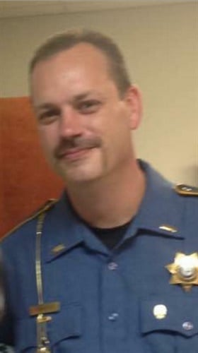 Lt. Kevin Mainhart of the Yell County (AR) Sheriff's Office was killed Thursday at a traffic stop. Mainhart retired as a captain from the West Memphis Police Department. (Photo: West Memphis Fire Department)