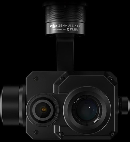 The Zenmuse XT2 drone camera is available from DJI and features FLIR thermal  imaging technology. (Photo: FLIR)