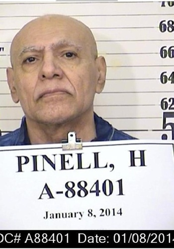 Hugo Pinell was stabbed to death Wednesday in a California prison. (Photo: California DOC)