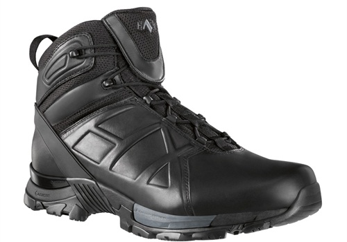 HAIX Black Eagle Tactical 20s combine advanced running shoe technology with the company's innovative duty footwear technology to create a lightweight, slip-resistant boot.