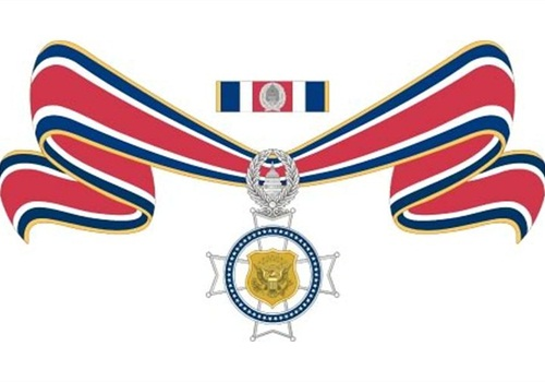 Illustration of state and local Congressional Badge of Bravery: DOJ BJA