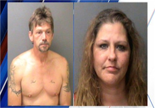 Christopher Razor and Angela Riley (Photo: Henry County Jail)