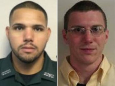 Sgt. Noel Ramirez (left) and Deputy Taylor Lindsey were shot and killed after sitting down to eat at a Chinese restaurant. (Photo: Gilchrist County SO)