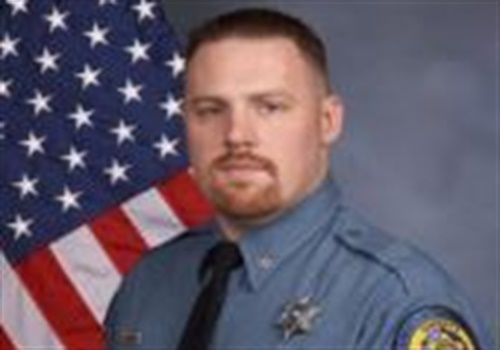 Deputy Patrick Rohrer of the Wyandotte (KS) Sheriff's Office was killed in an apparent gun grab attack while transporting a suspect. A second deputy was critically wounded. (Photo: Wyandotte County SO)