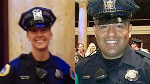 Des Moines, IA, Officers Susan Farrell and Carlos Puente-Morales were killed when a driver struck them head on. (Photo: Des Moines PD)