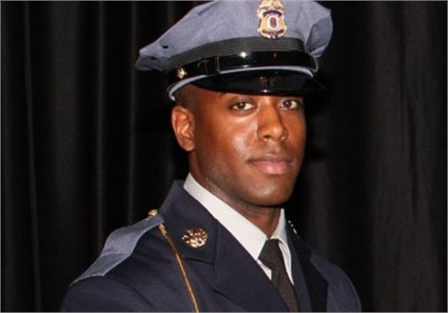 Officer Jacai Colson was in street clothes when he responded to the station attack. He was reportedly killed by a fellow officer who mistook him for one of the attackers. (Photo: Prince George's County PD)