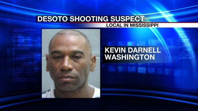 Two DeSoto County (MS) Sheriff's deputies were wounded in a gunfight with carjacking suspectKevin Darnell Washington. Washington was killed. (Photo: Local Memphis Screen Shot)