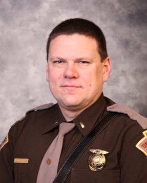 Lt. D. Heath Meyer of the Oklahoma Highway Patrol was critically injured during a Friday night pursuit. Authorities say he was struck by another OHP vehicle during a crash precipitated by the suspect. (Photo: OHP)