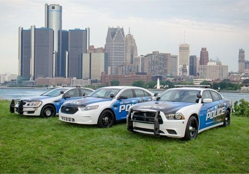 Businesses donated $8 million last year for the city to purchase new public safety vehicles. (Photo: Detroit PD)