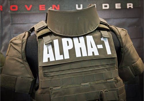 Point Blank's new Alpha-1 tactical armor disassembles and reassembles without wires. (Photo: Mark W. Clark)