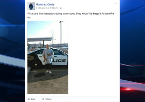 Orem police responded to a man's taunts by arresting him and taunting him back. (Photo: Facebook)