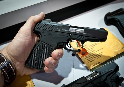 Remington's new R51 is a 21st century update of a nearly century old design. (Photo: Mark W. Clark)