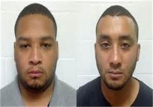 Marksville City Marshal Derrick Stafford, left, and Marksville City Marshal Norris Greenhouse Jr. (Photo: Louisiana State Police)