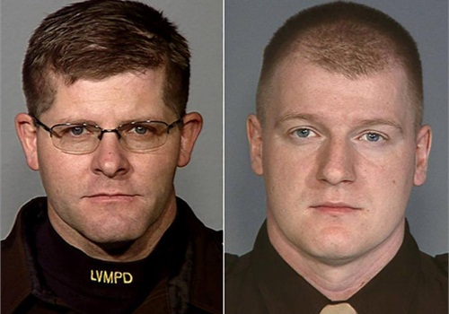 Las Vegas Metro PD Officer Alyn Beck (Left) and Officer Igor Soldo (Photo: LVMPD)