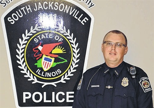 Officer Scot Fitzergald of the South Jacksonville Police Department was killed Tuesday in a patrol car accident. (Photo: South Jacksonville PD)