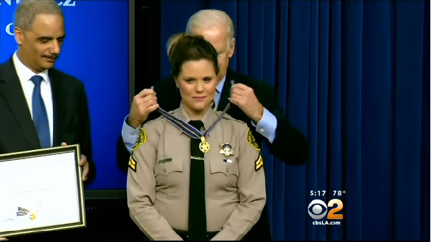 Video: Los Angeles County Deputy Awarded Medal of Valor for Off-Duty Rescue