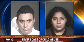 Video: Arizona Officers Rescue 3-Year-Old Girl Duct Taped, Locked in Closet, and Sexually Abused