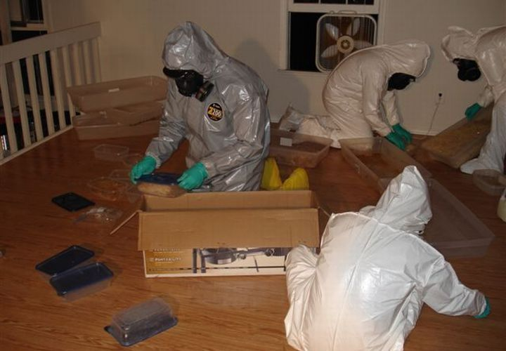 Half-ton of Meth Seized In Georgia 'Superlab'