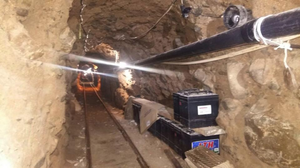 Major Drug Tunnel Found on US-Mexico Border in California