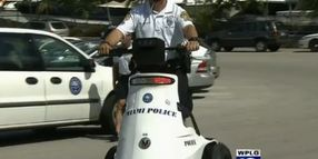 Miami PD Purchases 9 Electric Stand-up Vehicles