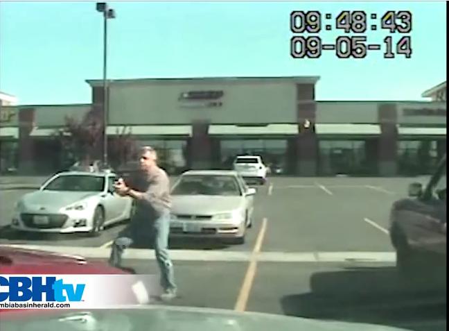 Video: Washington Officers Shoot, Arrest Drug Suspect