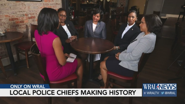 Video: 6 Black Women Serving as Police Chiefs for Major NC Cities