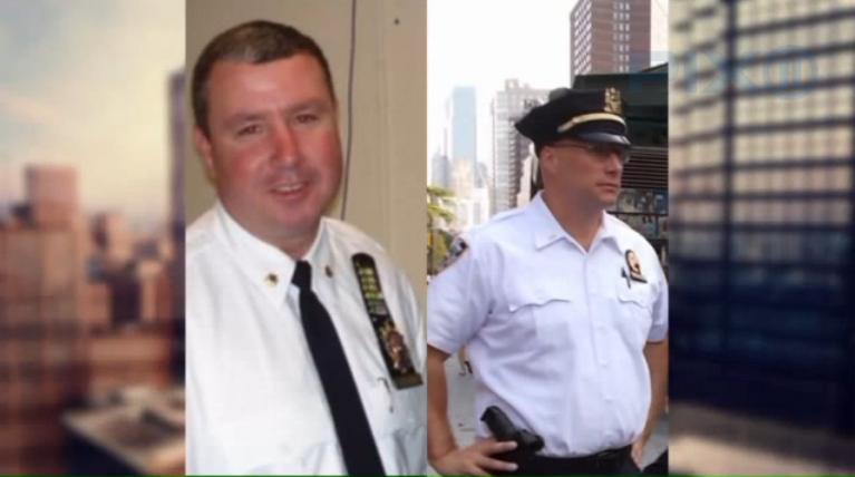 Video: NYPD Officers Sprayed with Accelerant, Burned while Apprehending Murder Suspect