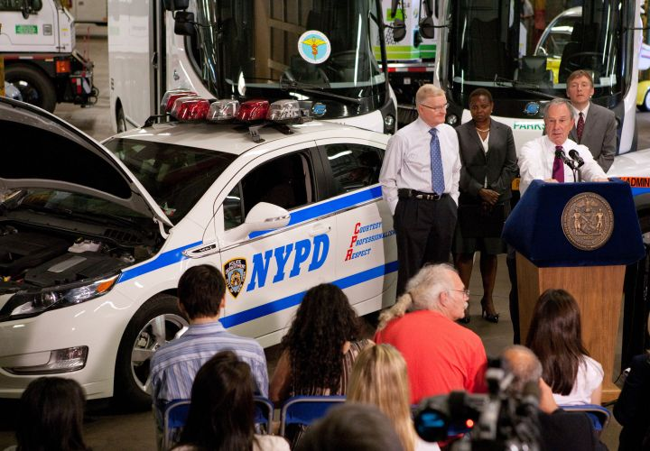 NYPD Acquires Electric Chevy Volts