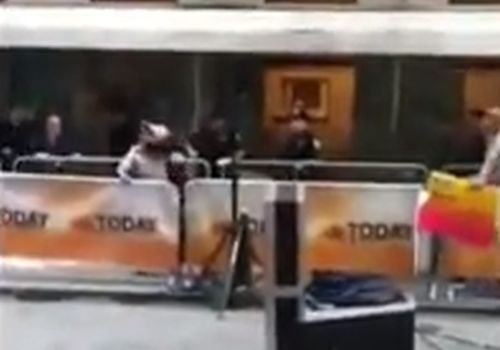 NYPD Cops Tackle Suicidal IRS Ranter