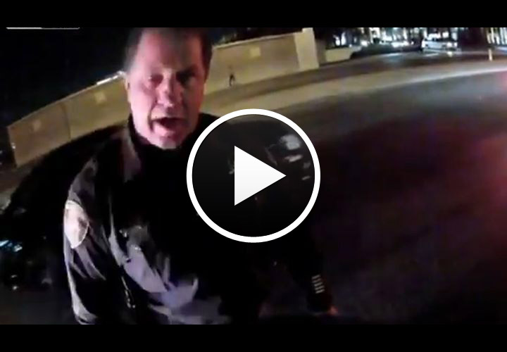 Video: Las Vegas Cop Rear-Ends Motorcycle