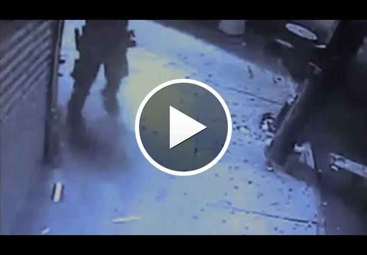 Video: Worker Accidentally Shot By NYPD Cop During Robbery